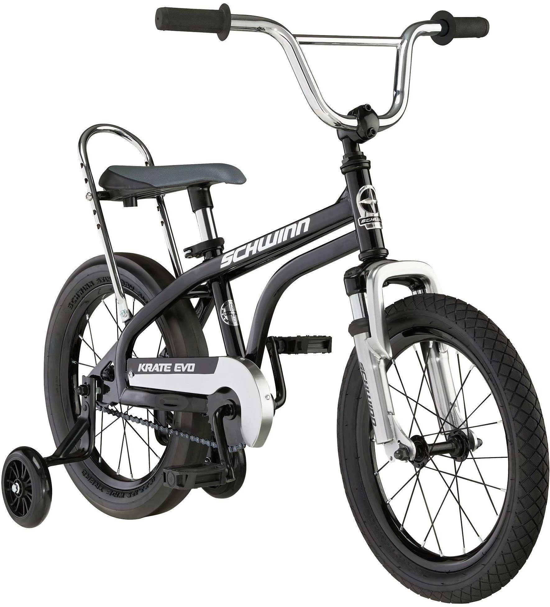 "Schwinn Youth 16"" Krate EVO Bike, 16 IN., Black"