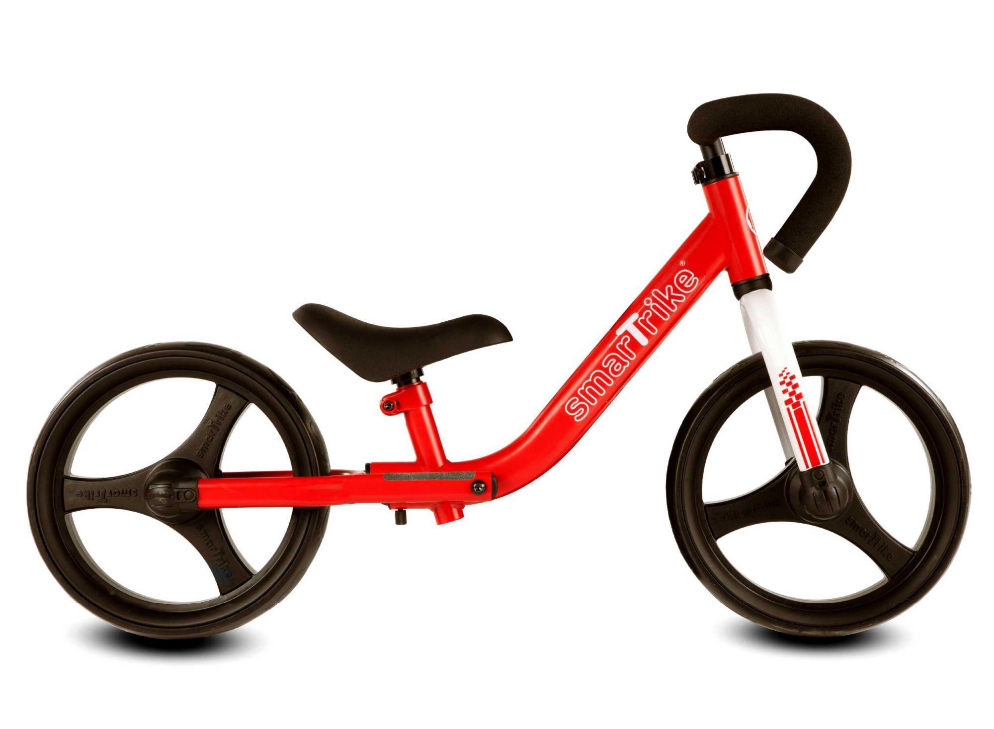 SmarTrike Folding Balance Bike, Red