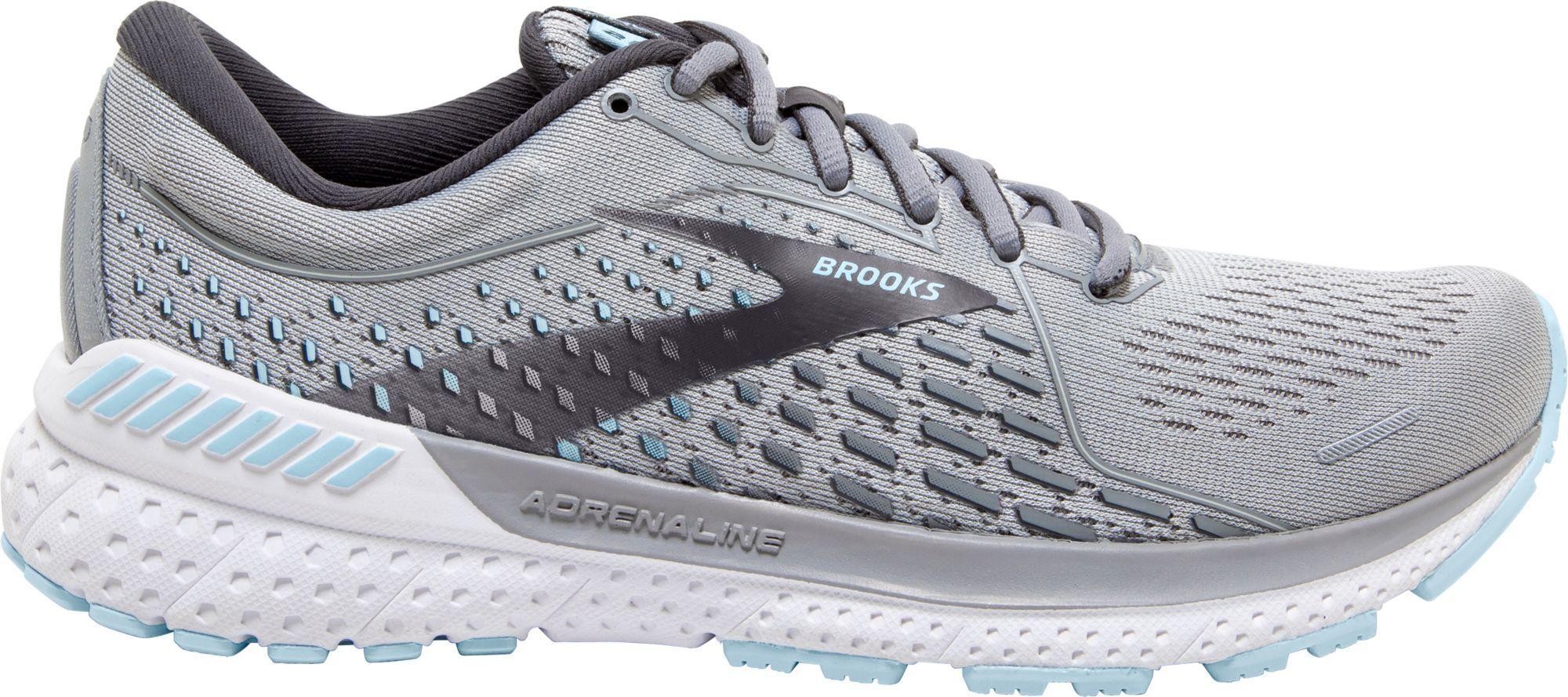 Brooks Women's Adrenaline GTS 21 Running Shoes, Gray