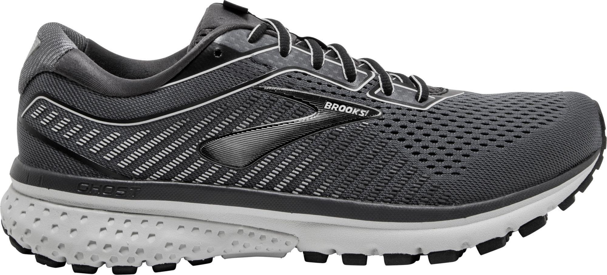 Brooks Men's Ghost 12 Running Shoes, Black