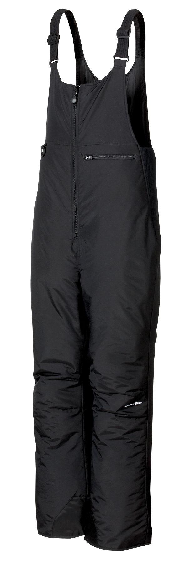 Outdoor Gear Men's Peak Bib (Regular and Big & Tall), Medium, Black