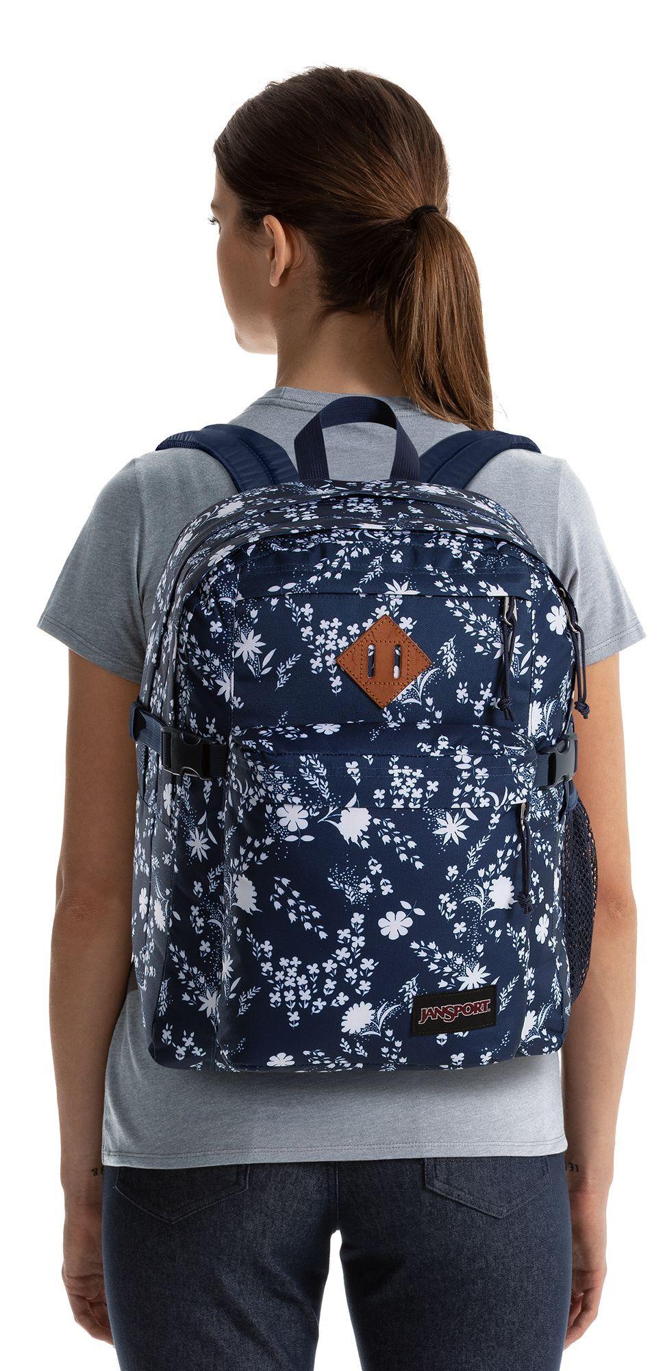 JanSport Main Campus Backpack, Charmed Garden