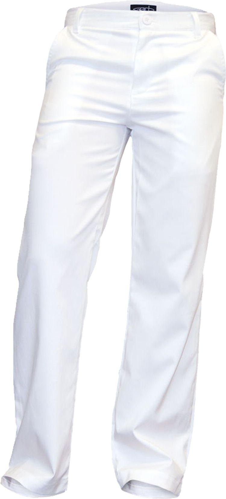 Garb Boys' Bubba Tech Golf Pants, Medium, White