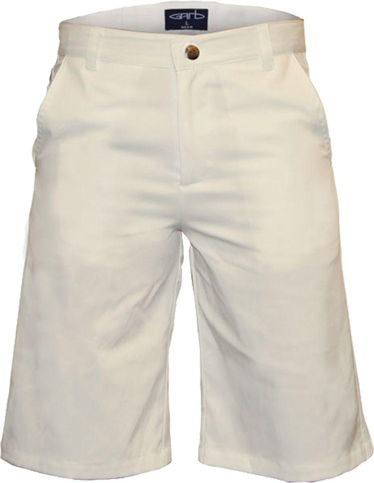 Garb Boys' Zach Performance Golf Shorts, Small, Stone