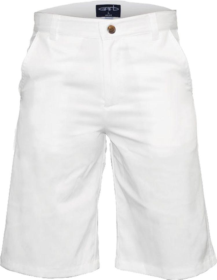 Garb Boys' Zach Performance Golf Shorts, Small, White