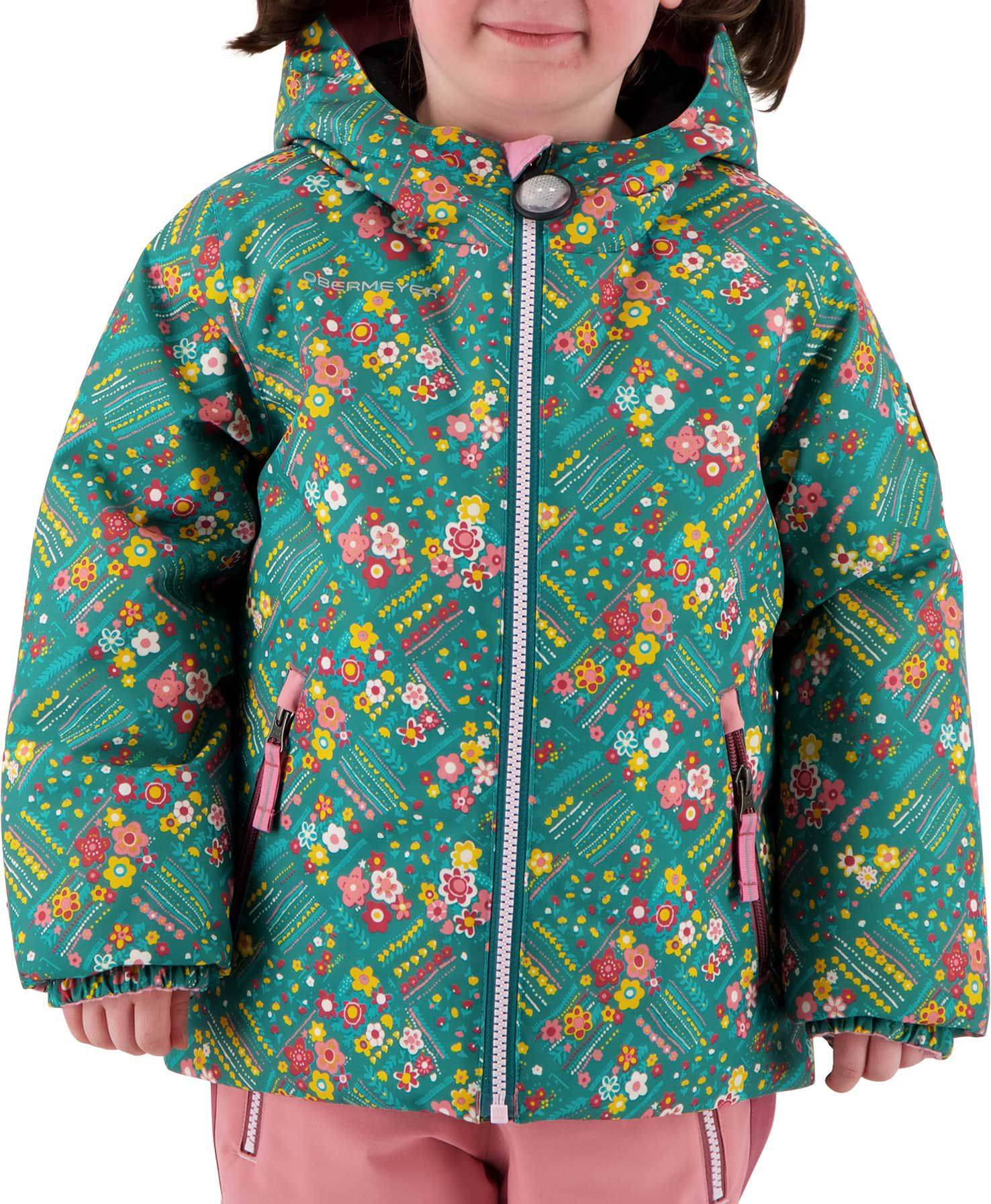 Obermeyer Youth Ash Winter Jacket, Girls', Size 6, Garden Patch
