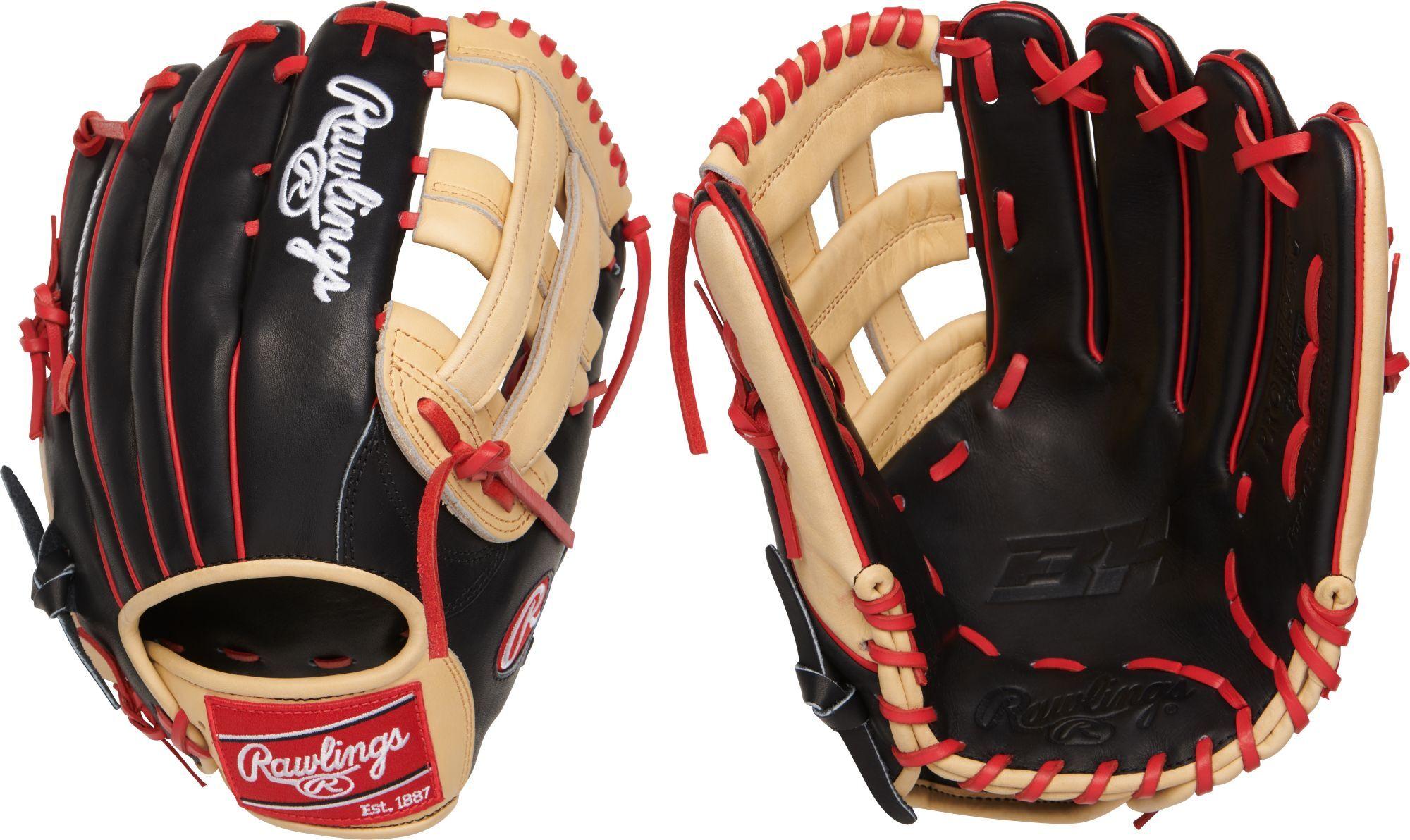 Rawlings 12.75'' Bryce Harper HOH R2G Series Glove, Black