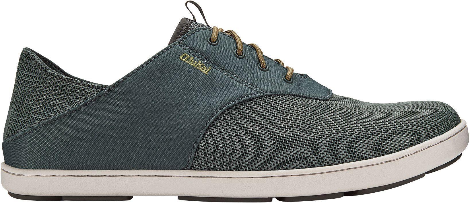 OluKai Men's Nohea Moku Casual Shoes, Gray