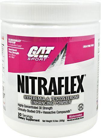 GAT Sport Nitraflex Pre-Workout Watermelon 30 Servings