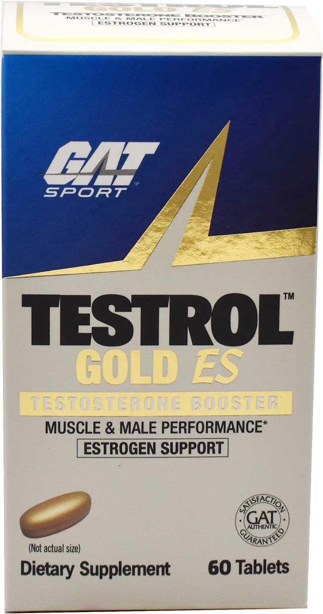 GAT Sport Testrol Gold ES Testosterone Booster, Men's