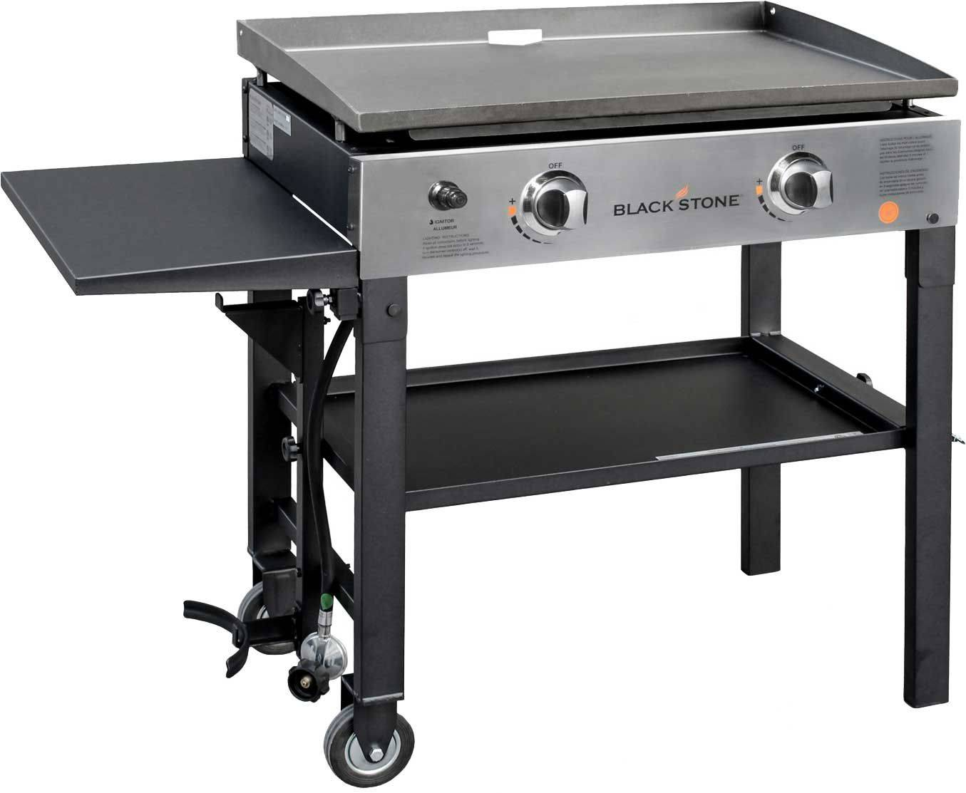"""Blackstone 28"""" Griddle Cooking Station, stainless steel"""