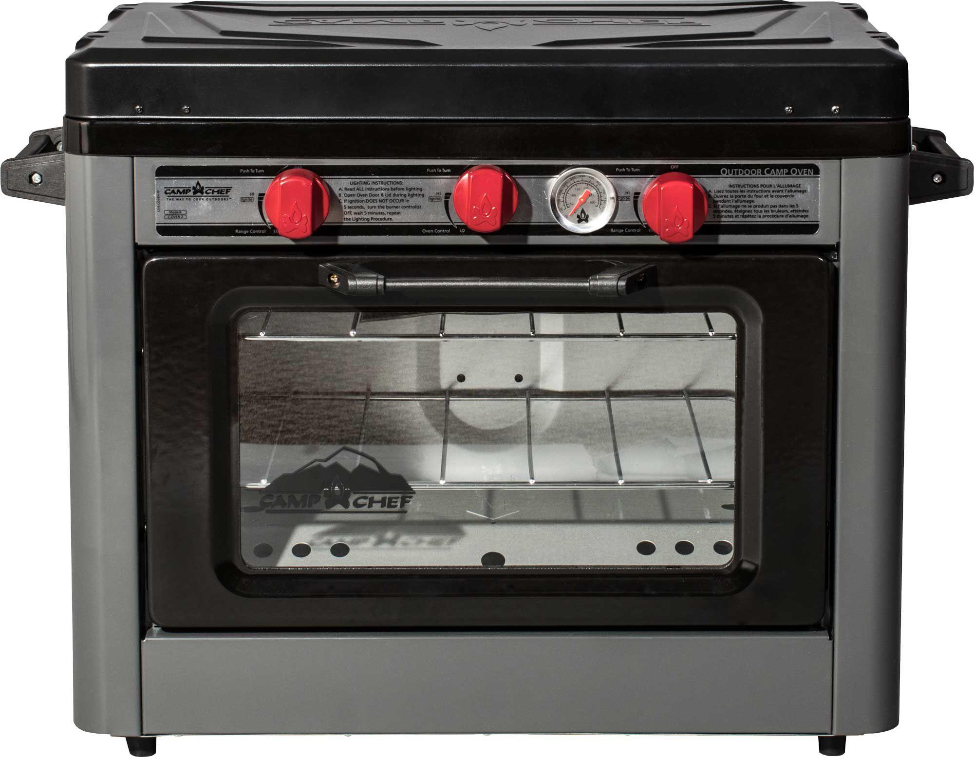 Camp Chef Deluxe Outdoor Oven, steel