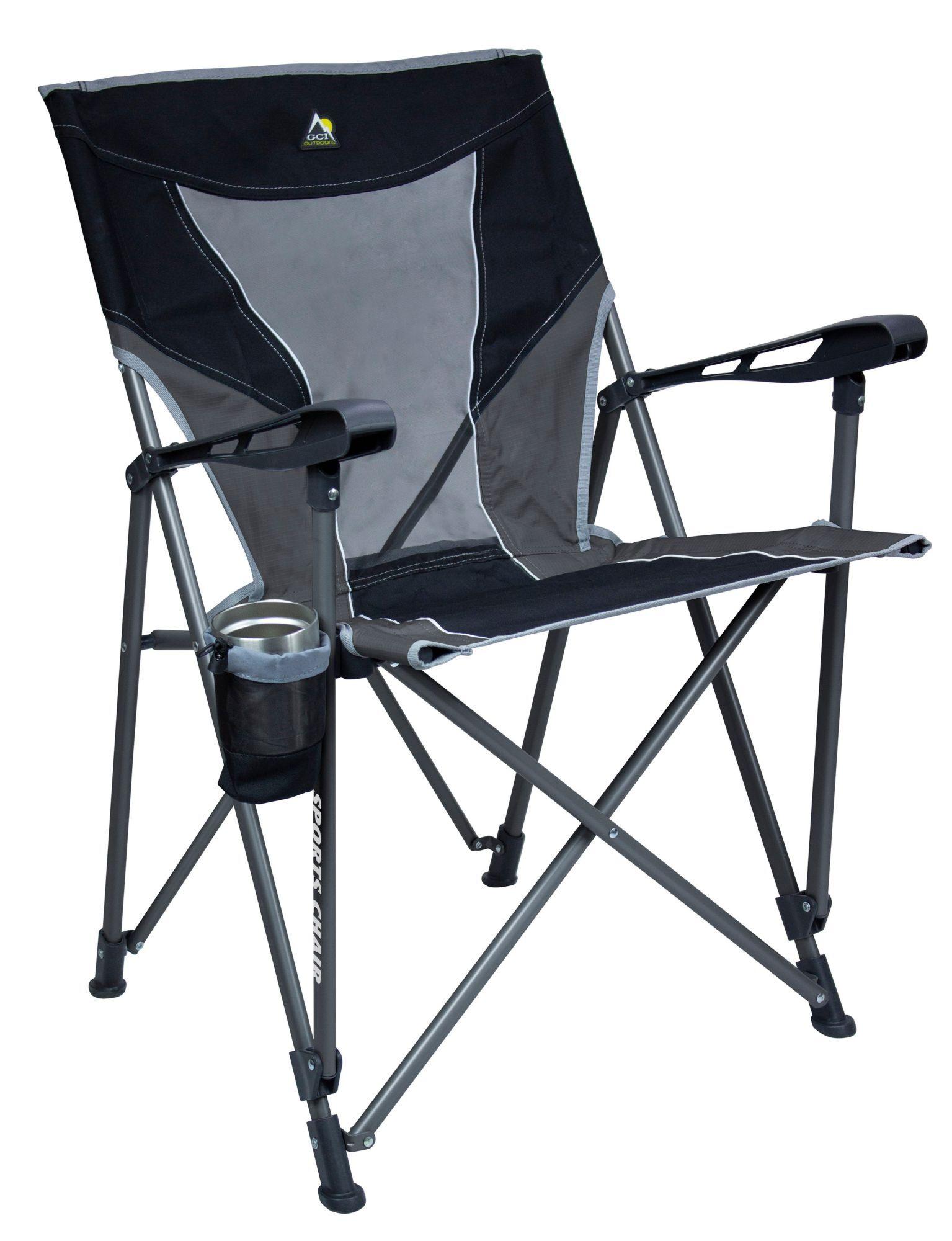 GCI Outdoor Sports Chair, Black