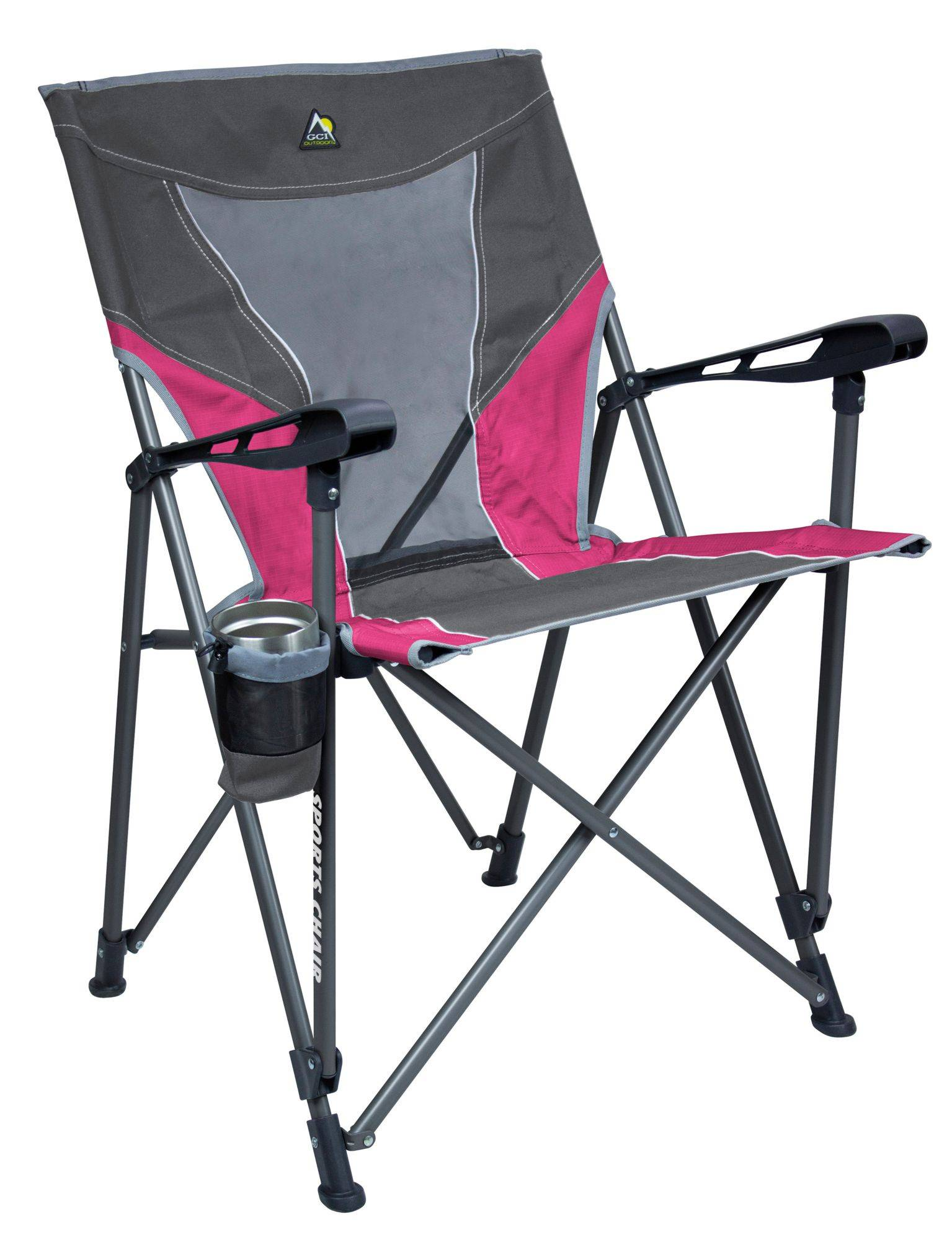 GCI Outdoor Sports Chair, Gray