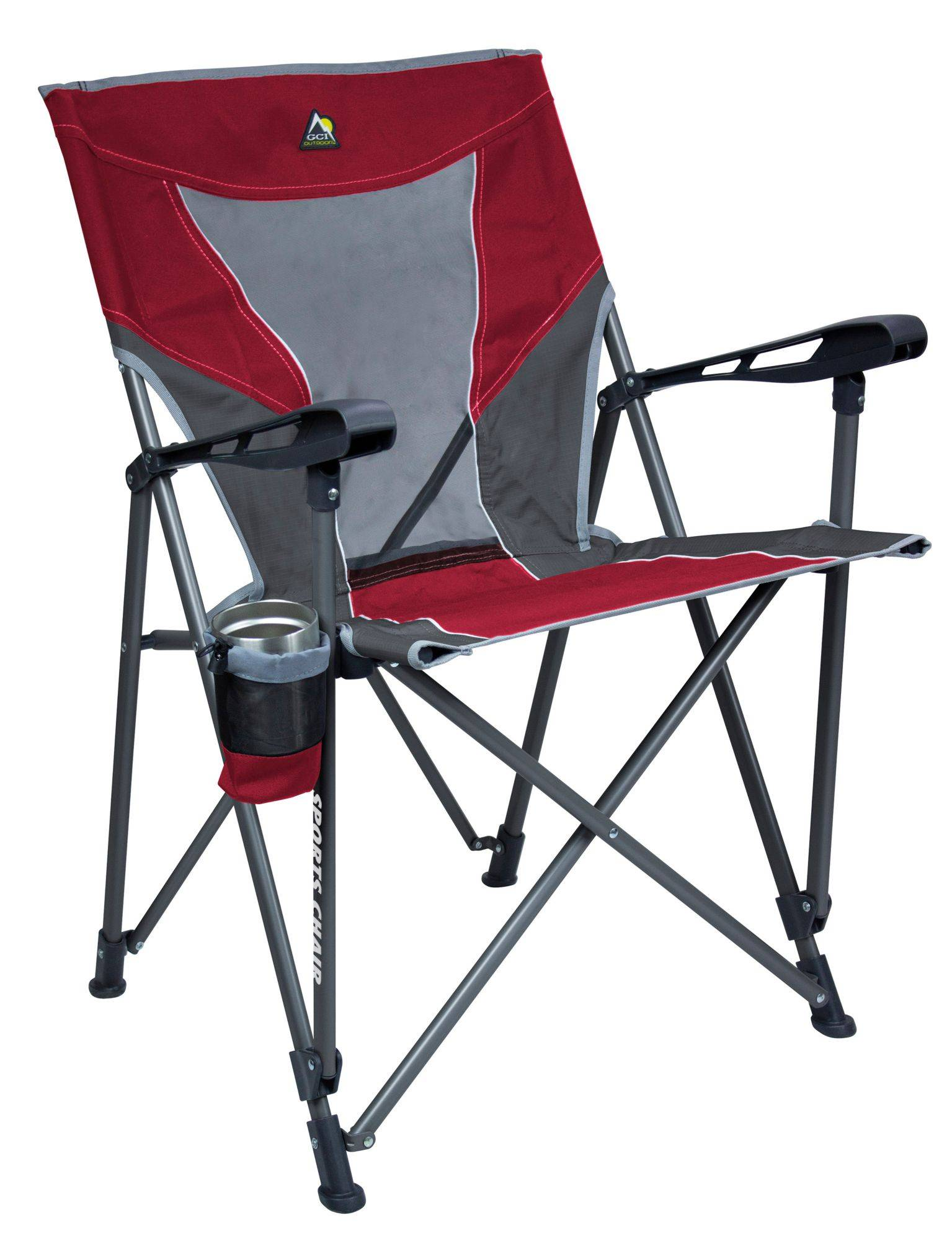 GCI Outdoor Sports Chair, Red
