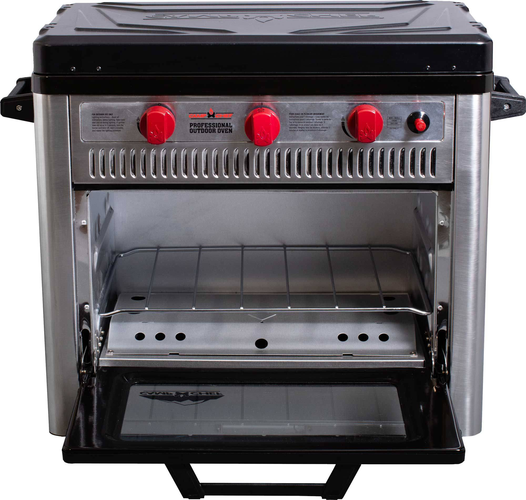 Camp Chef Professional Outdoor Oven, stainless steel