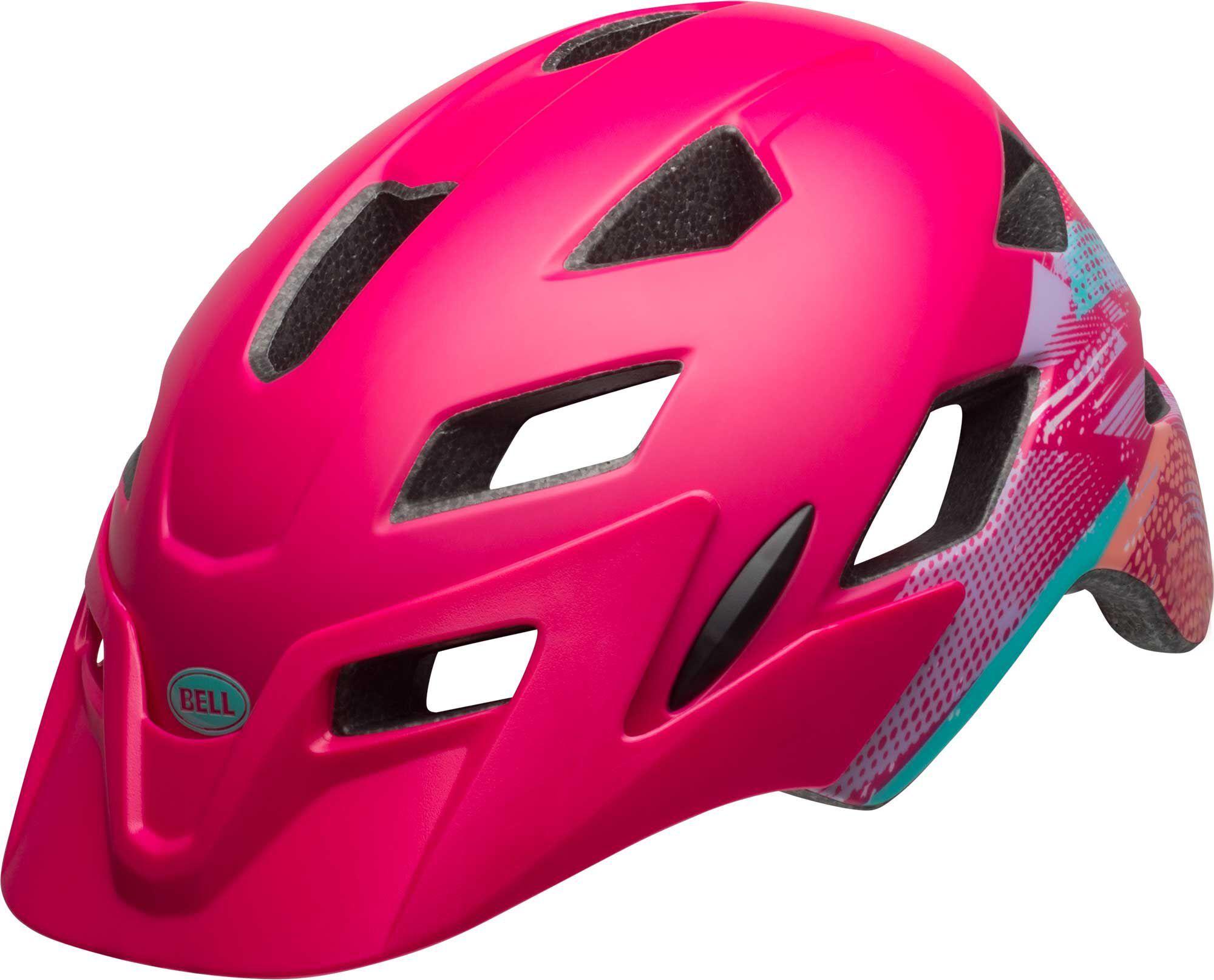 Bell Youth Sidetrack Bike Helmet, Kids, Matte Berry