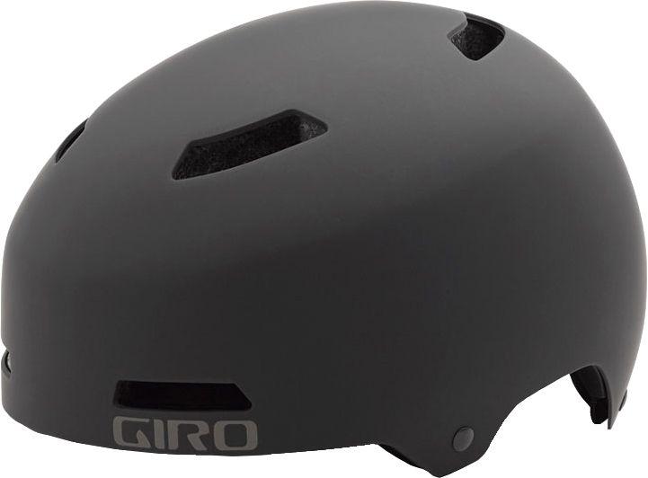 Giro Adult Quarter Bike Helmet, Medium, Black