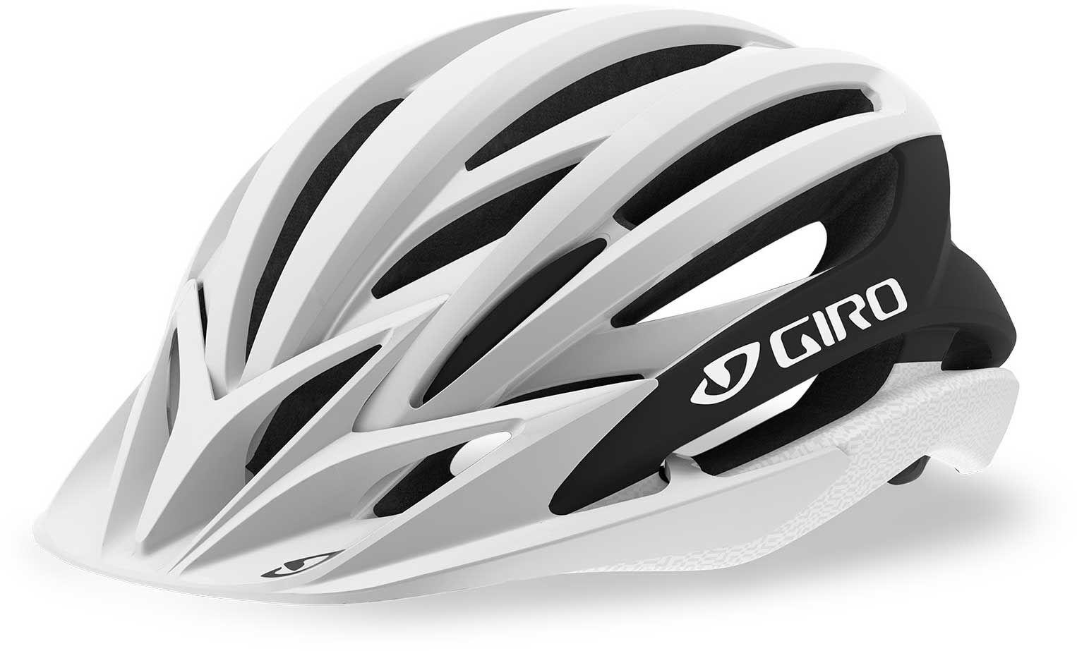 Giro Adult Artex MIPS Bike Helmet, Small, Matte White/Black