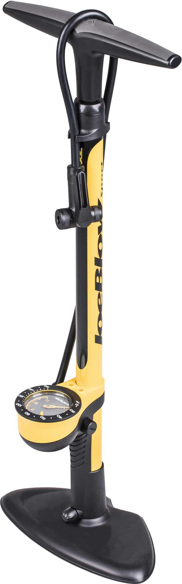Topeak JoeBlow Sport III Bike Pump, Yellow