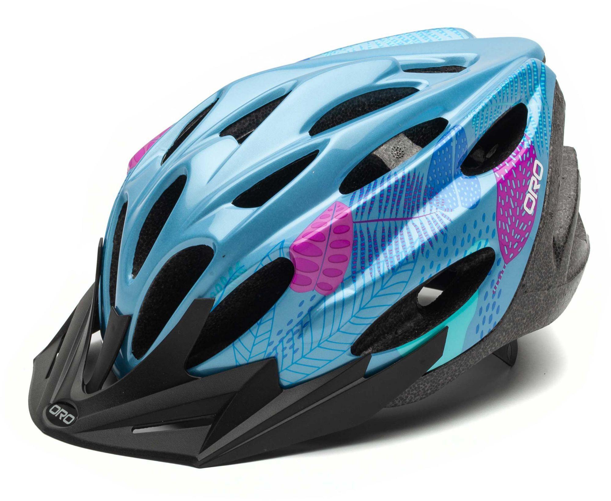 ORO Kids' Cheer Bike Helmet, Girls', No Size, Blue
