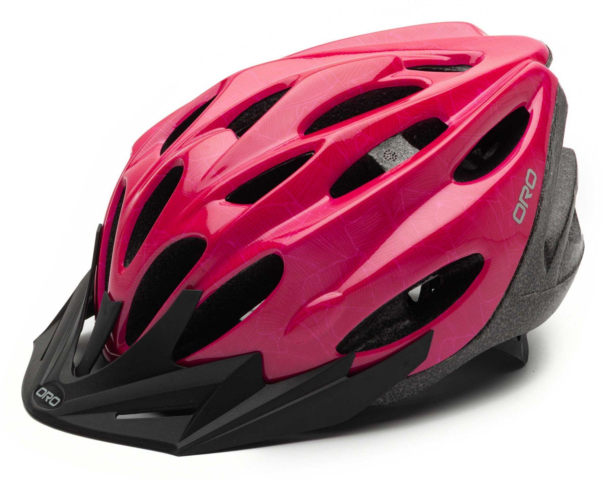 ORO Kids' Cheer Bike Helmet, Girls', No Size, Pink