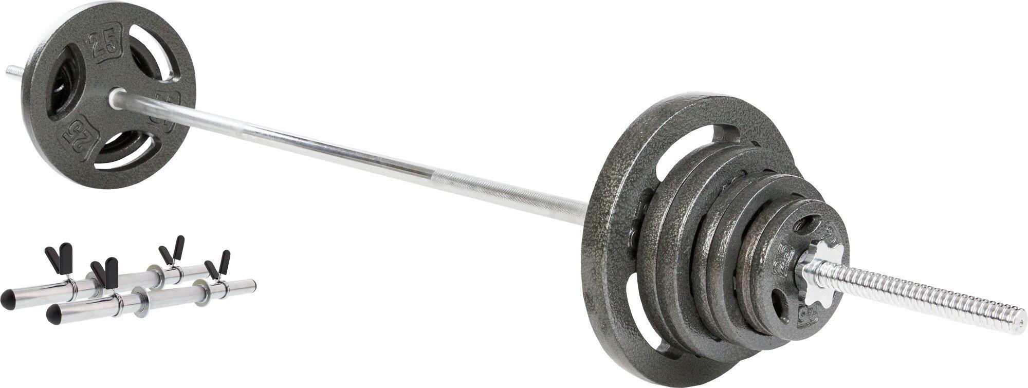 Fitness Gear 135 lb. Barbell Set, Chrome