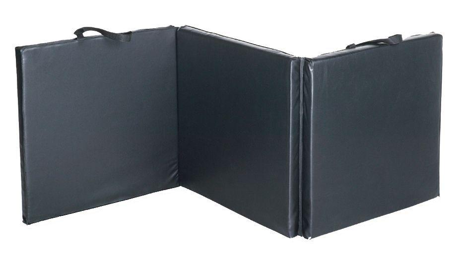 Fitness Gear 2x6 Folding Exercise Mat, Black