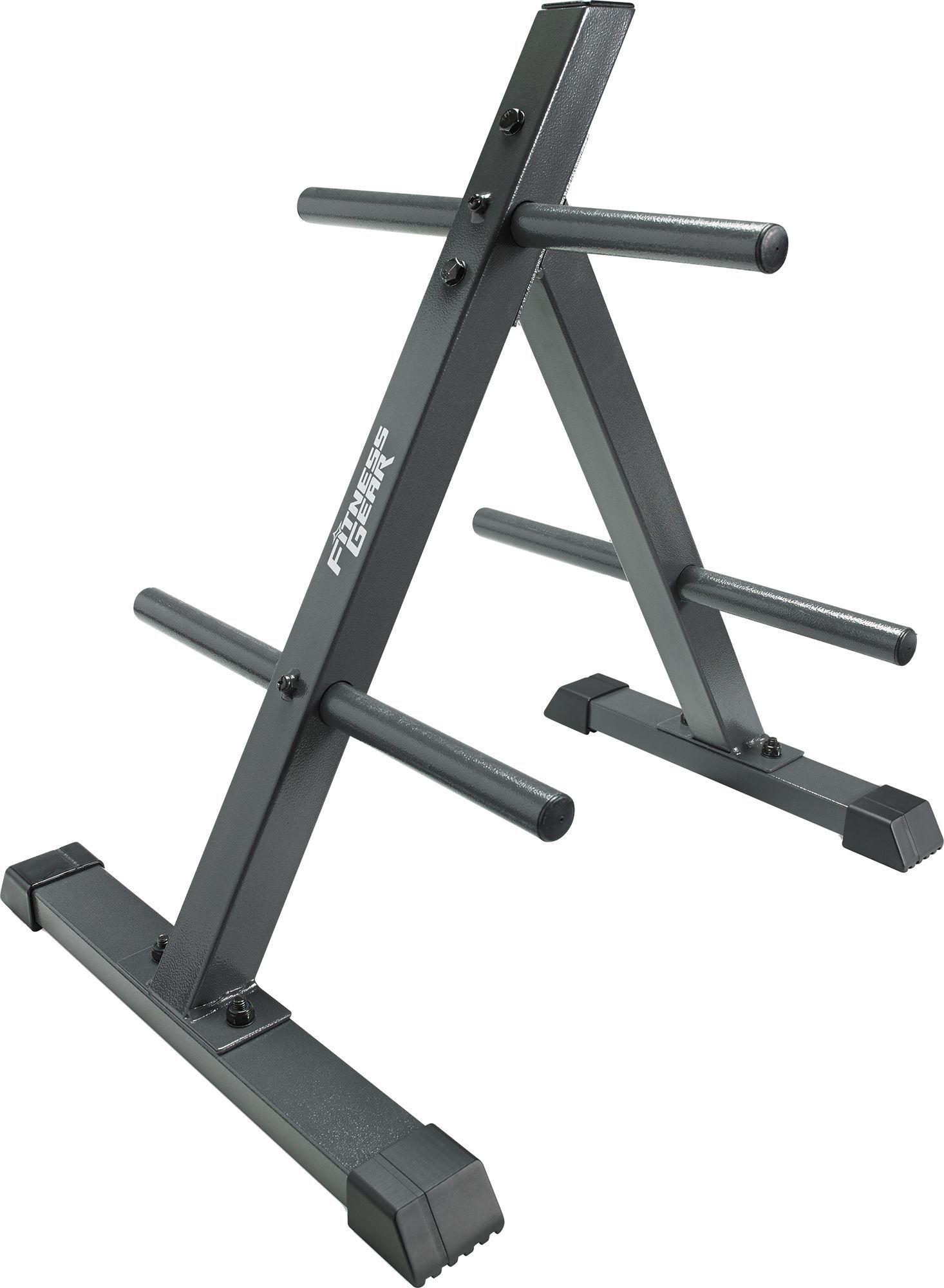 Fitness Gear Standard Plate Tree, steel