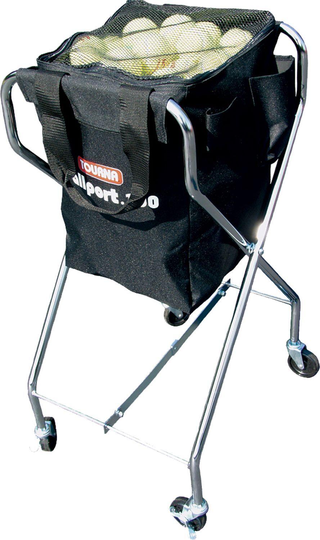 Tourna Ballport 180 Folding Cart, Black
