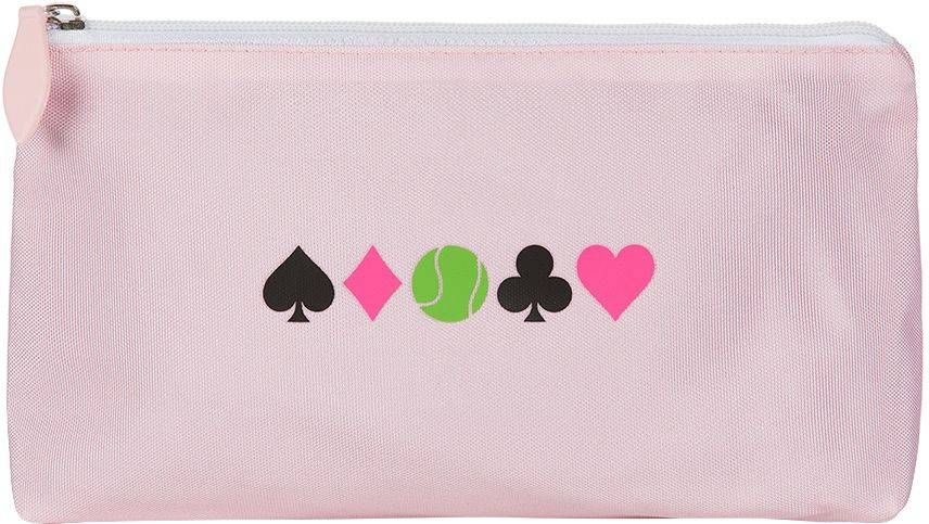 Ame and Lulu Ame & Lulu Women's Everyday Tennis Pouch, Pink