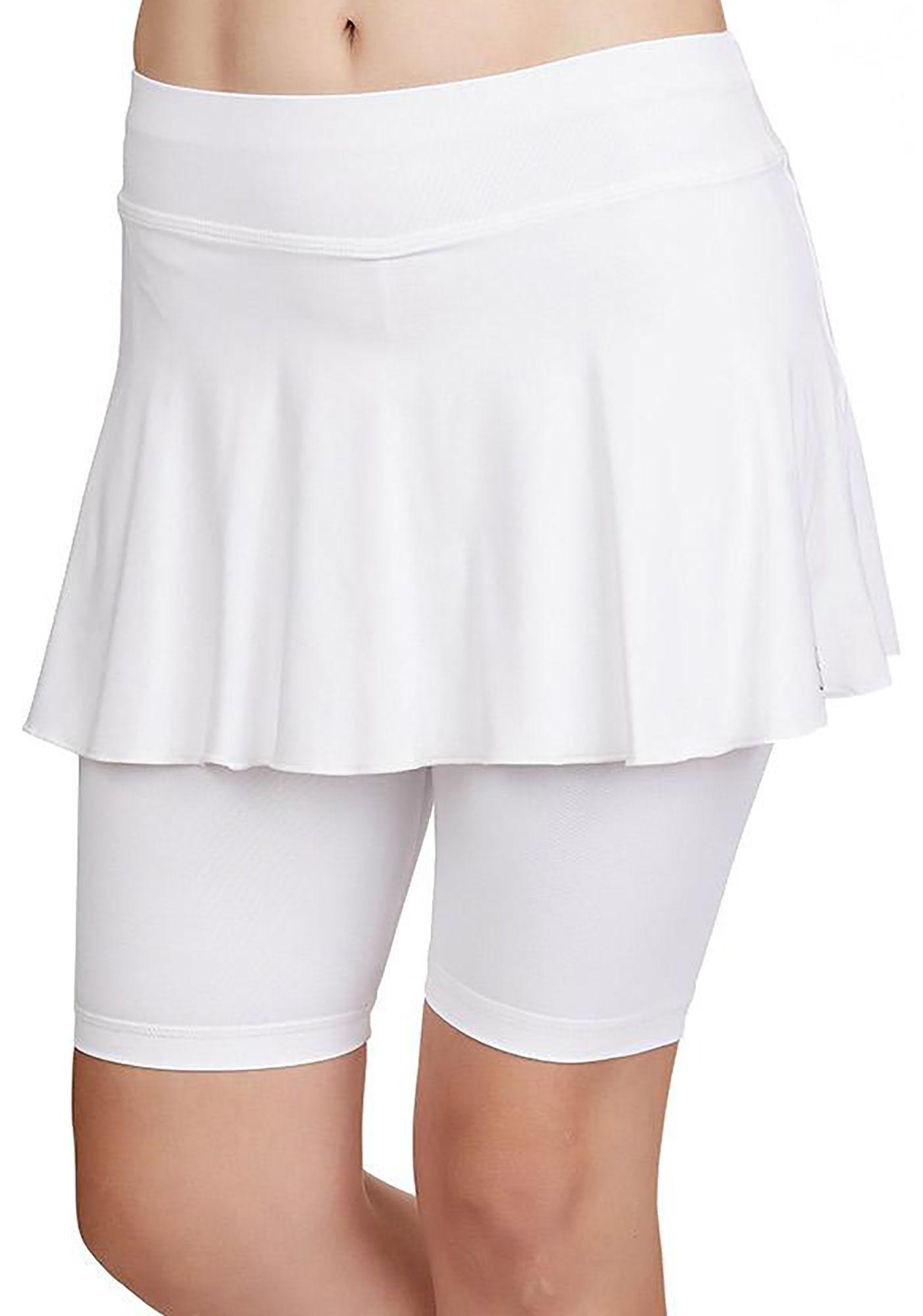Sofibella Women's Jan Bermuda UV Skort, XS, White