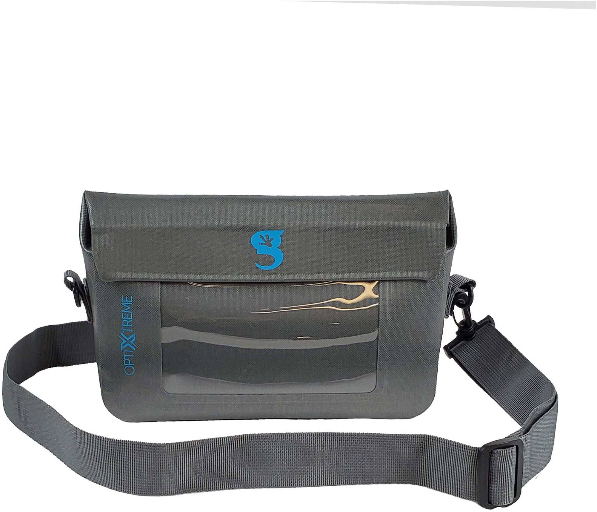 geckobrands Optixtreme Waterproof Phone Tote, Gray