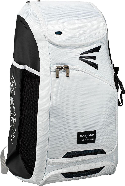 Easton Sports Easton Jen Schro E700CBP Fastpitch Catcher's Backpack, White