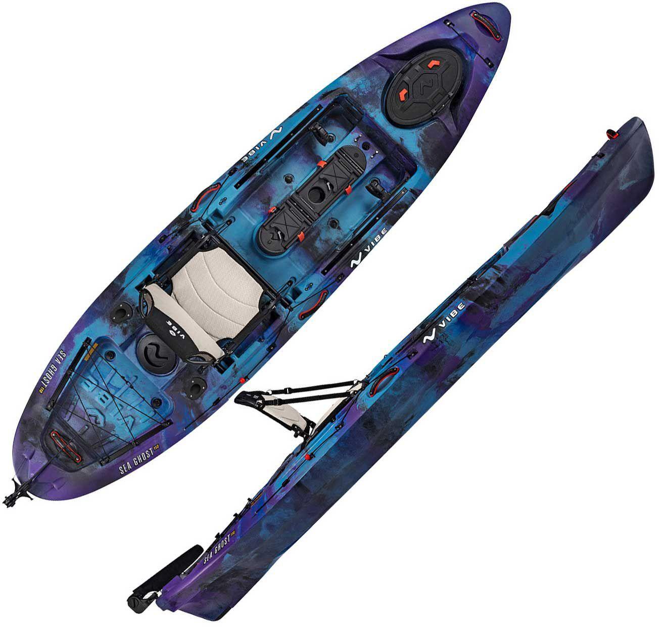 Vibe Sea Ghost 110 Kayak, Blue