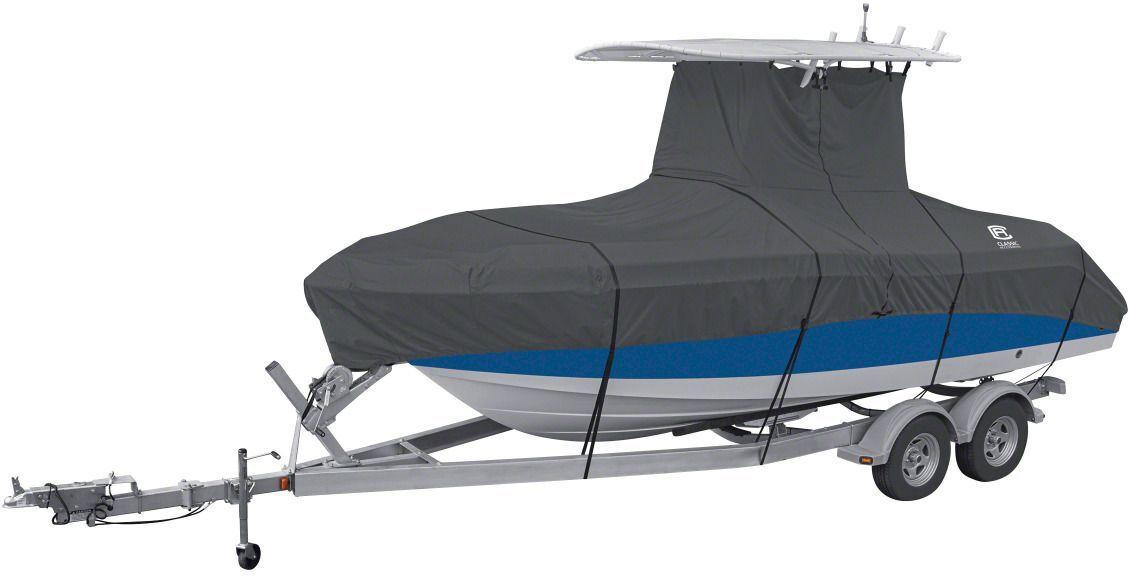 "Classic Accessories StormPro T-Top Boat Cover, 106"" beam"