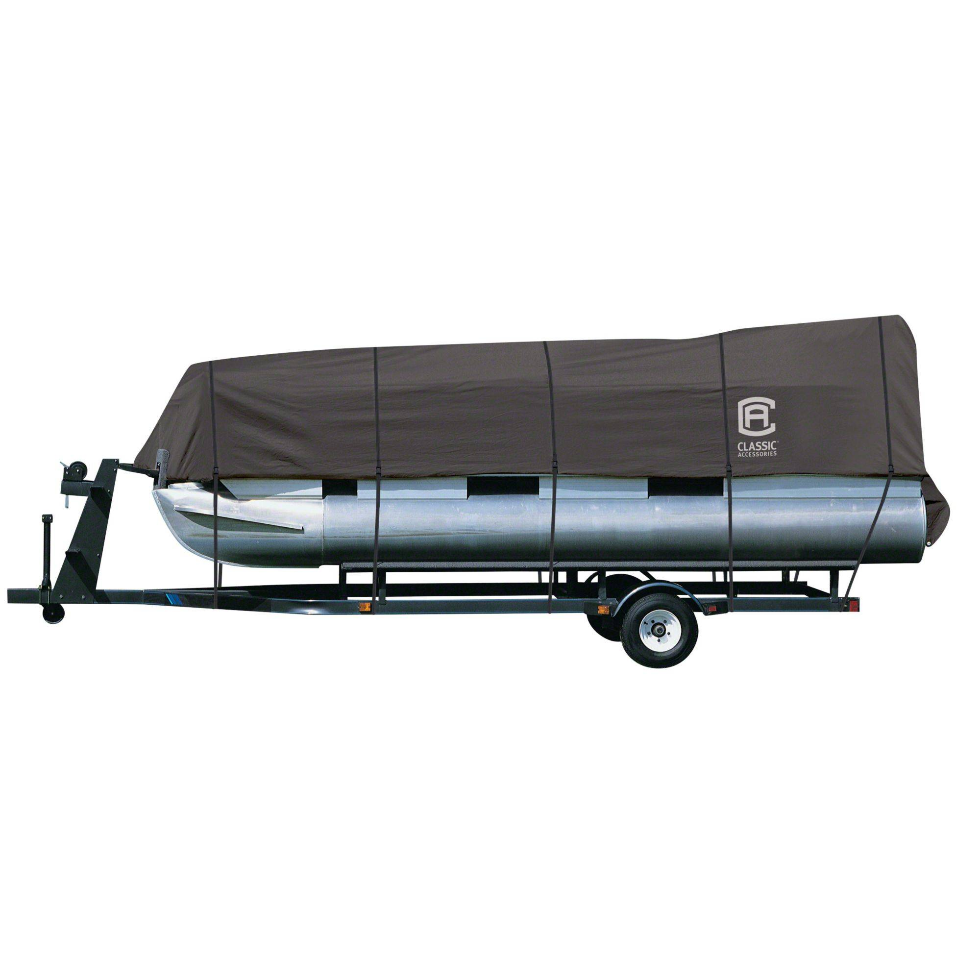 Classic Accessories StormPro Pontoon Boat Cover, Charcoal