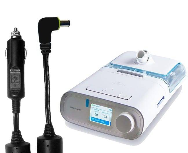 Philips Shielded DC Cord for Respironics DreamStation Series Machines
