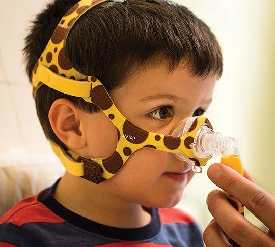 Philips Respironics Wisp Pediatric CPAP Nasal Mask
