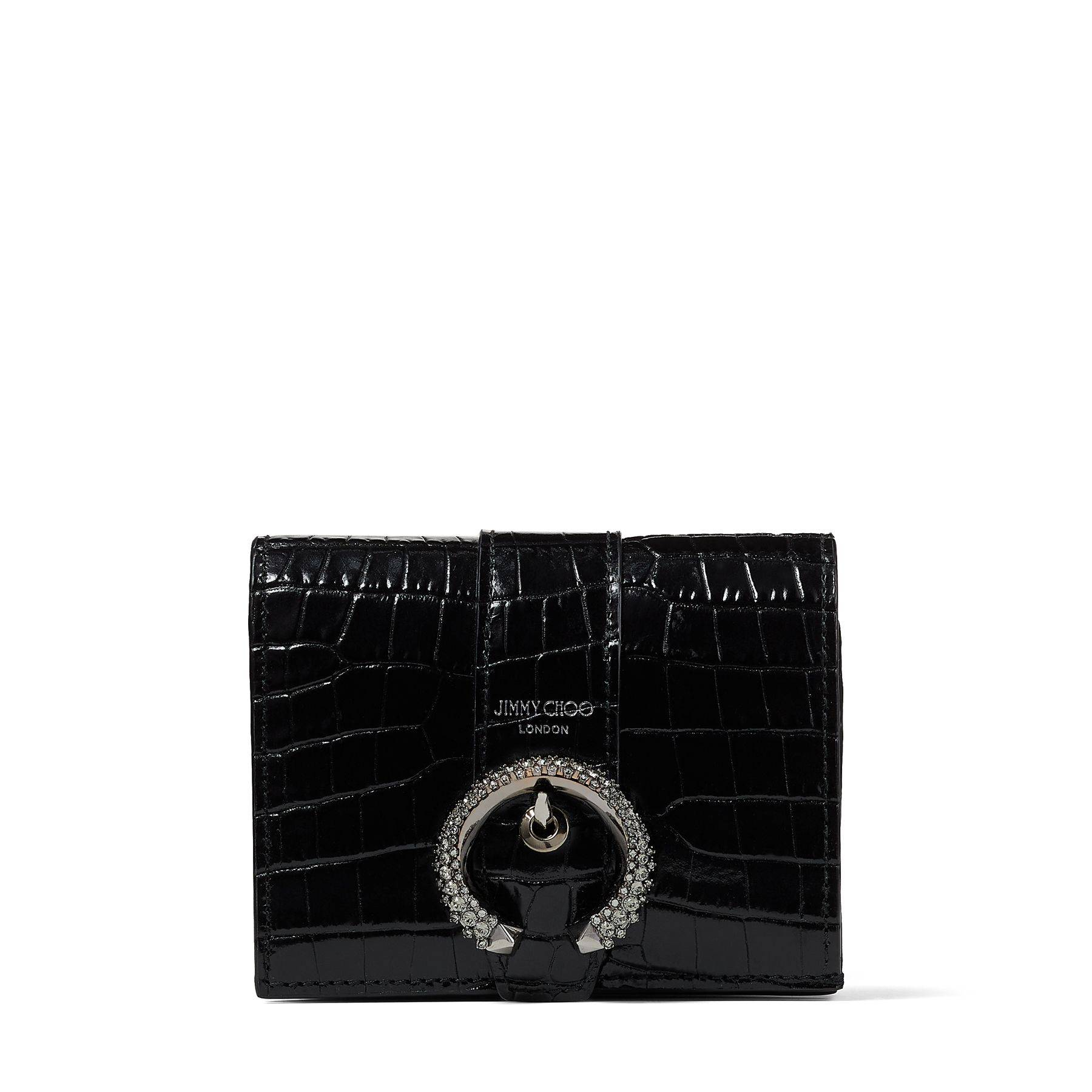 Jimmy Choo Hanne  - Black - Size: One Size