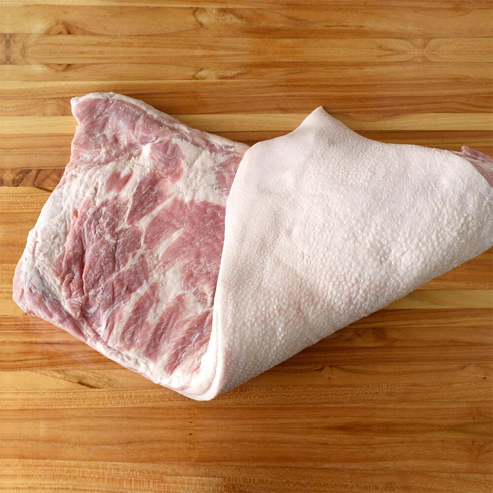 D'Artagnan Heritage Pork Belly, Boneless and Skinless: Frozen / 1 Piece (12.5 lbs average avg. each)  by D'Artagnan