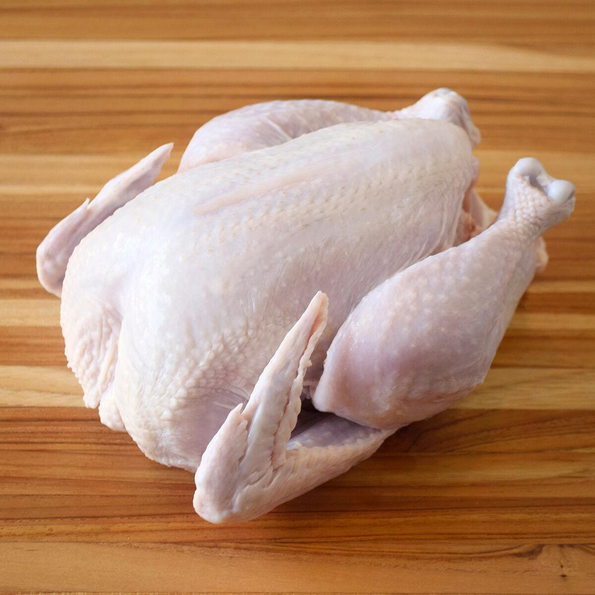D'Artagnan Organic Chicken, Whole: Frozen / 2 Chickens (2.5-3.5 lbs avg. each) by D'Artagnan