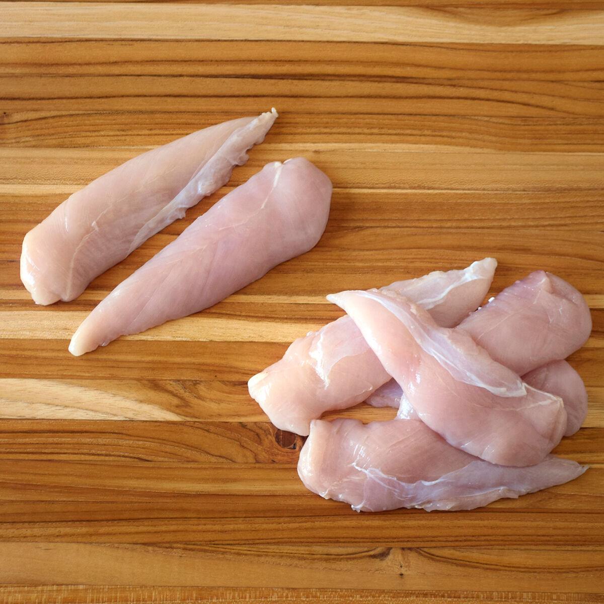D'Artagnan Organic Chicken Tenderloins: Fresh (4lb case 4 1lb avg packs avg. each)  by D'Artagnan