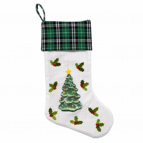 Mr. Christmas Xmas Tree Stocking -Multi