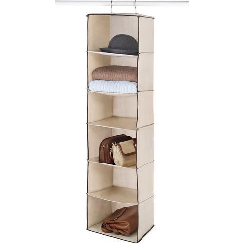 Whitmor 6 Section Hanging Accessory Shelf Storage -