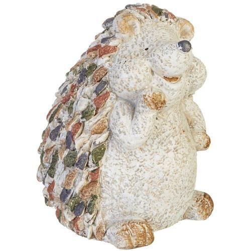 Galt International Happy Hedgehog Garden Statue -