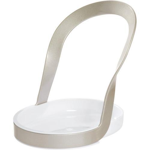 Interdesign Austin Spoon Rest -Silver/White