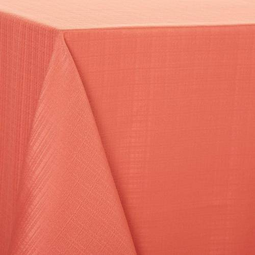 Arlee Essentials Solid Tablecloth -Pink