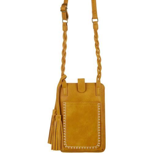 Save The Girls Free Spirit Cell Phone Handbag -Yellow