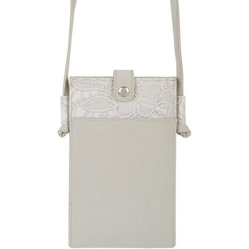 Save The Girls Lacey Mae Cell Phone Handbag -Grey
